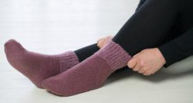 厚手の靴下