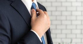 ネクタイを